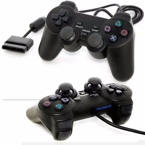 control playstation 2 dualshock cable 1,7 metros nuevo