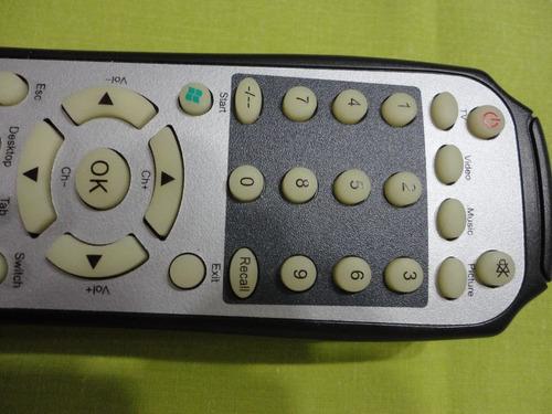 control p/placa sintonizadora de tv encore p/pc interna