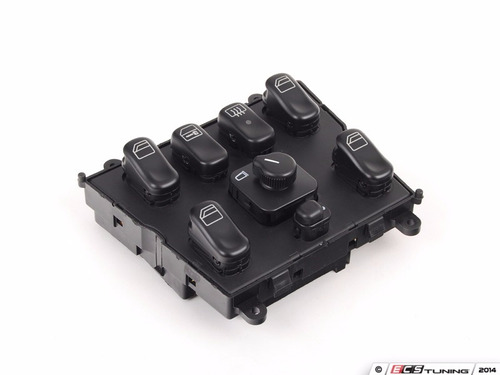 control principal de los vidrios y seguros mercedes ml w163