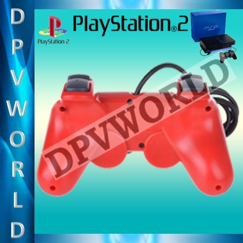 control ps2 alambrica control playstation 2 sony