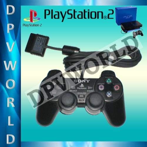 control ps2 original alambrica control playstation 2 sony