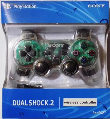control ps2 play 2 inhalambrico wireless dualshock 2 sony