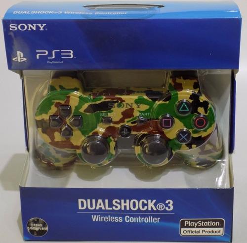 control ps3 dualshock 3  playstation 3 camuflados
