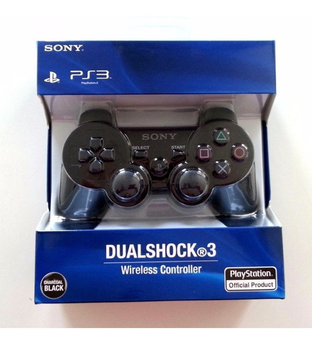 control  ps3 inalambrico play station six axes