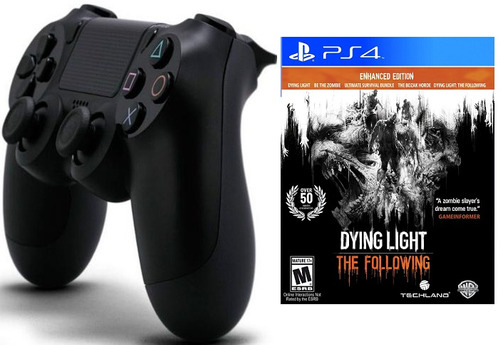 control ps4 con dying light the following ps4 dualshock 4