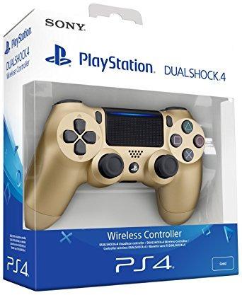control ps4 dualshock 4 dorado original sellado