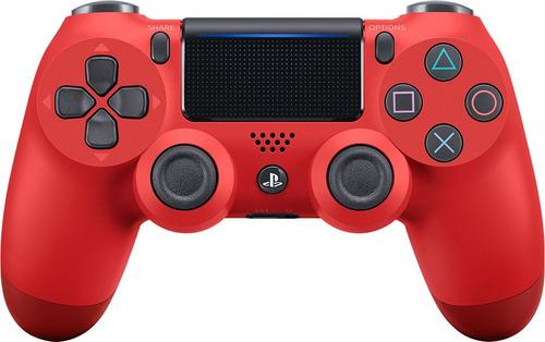 control ps4 dualshock 4 rojo nuevo original sellado