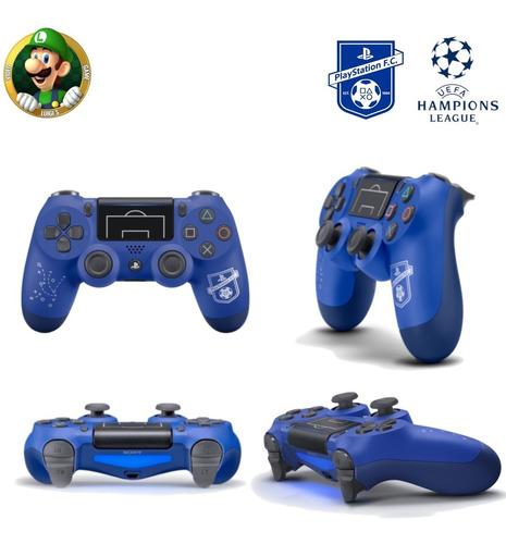 control ps4 original edicion especial uefa champions legue