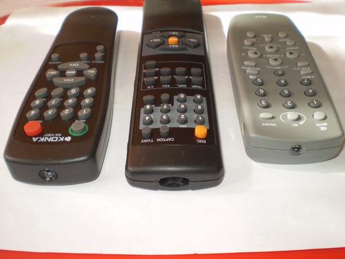 control r. tv convencional konka / panda / daka / c-electric