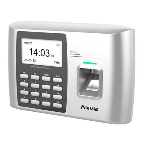 control reloj horario huella personal anviz a300 acceso rele