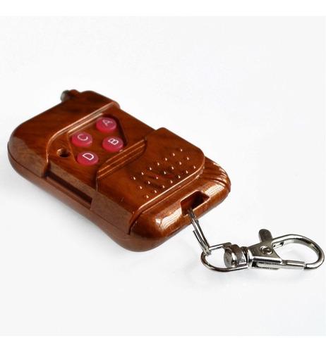 control remoto 4 botones ic2272/2262 315 transmisor receptor