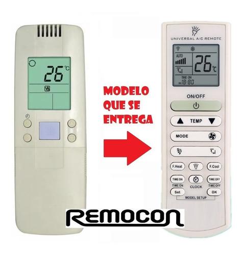 control remoto aire