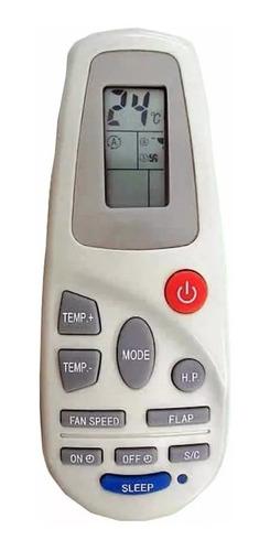 control remoto aire acondicionado sanyo coventry electrolux