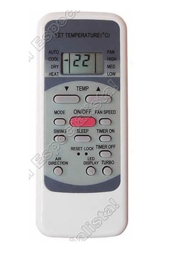 control remoto aire acondicionado tophouse thse-26cm4/26fm4