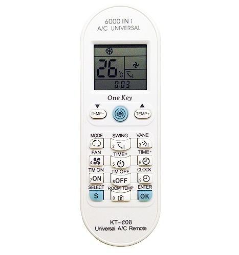 control remoto aire acondicionado universal x4000 bigbull