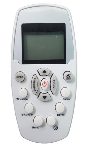 control remoto aire acondicionado whirpool ar823