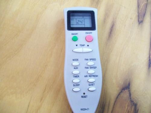 control remoto aire acondicionado zenith frio calor nuevos .