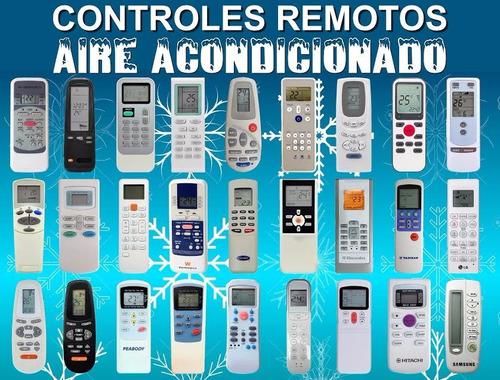 control remoto aire para