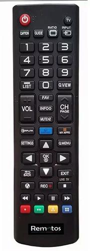 control remoto akb73975701 para lg smart led tv lb5800 lcd
