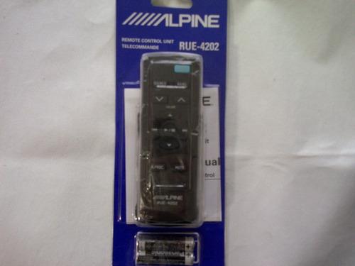 control remoto alpine rue-4202