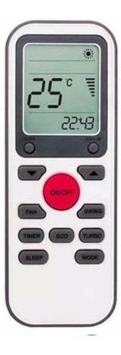 control remoto ar803 aire acondicionado tcl hitachi rca