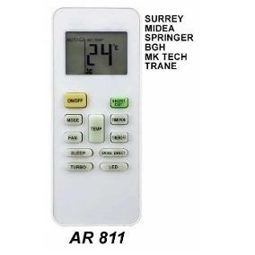 control remoto ar811 aire acondicionado bgh springer midea