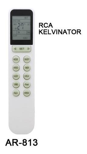 control remoto ar813 aire acondicionado rca kelvinator