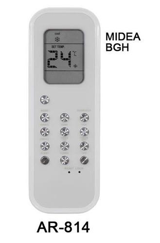 control remoto ar814 aire acondicionado midea bgh