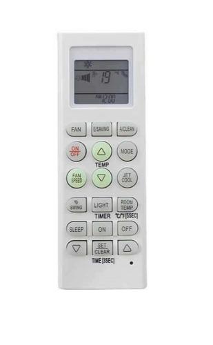 control remoto ar818 aire acondicionado lg