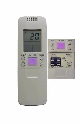 control remoto ar826 aire acondicionado hisense toshiba