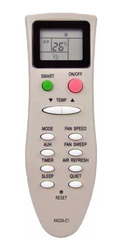control remoto ar828 aire acondicionado zenith voltas mktech