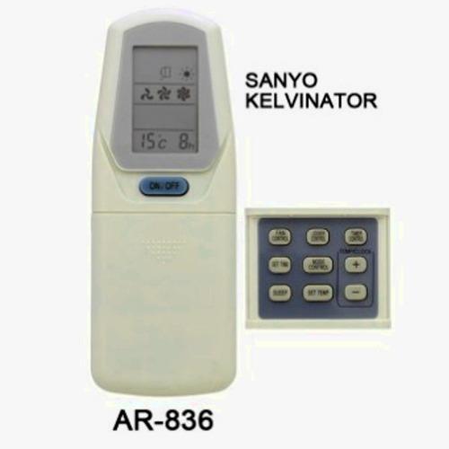 control remoto ar836 aire acondicionado sanyo kelvinator