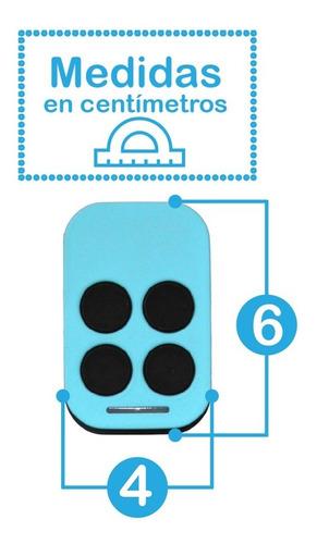 control remoto automatico peccinin gatter garage porton