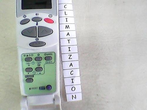 control remoto bgh fedders frio calor original no son copias