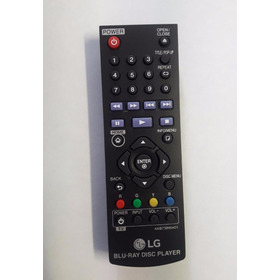 Control Remoto Blu Ray Lg Bp255,  Bp340 Y Bp350. Akb73896401