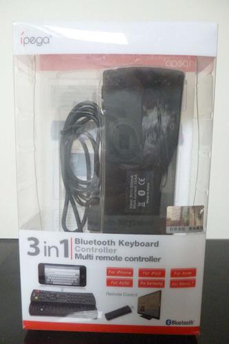 control remoto bluetooth keyboard controller 3 in 1 ipega