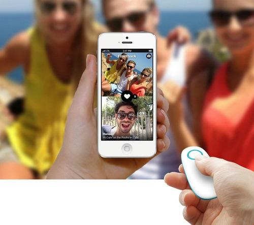 control remoto celulares iphone/android monopod-crtia