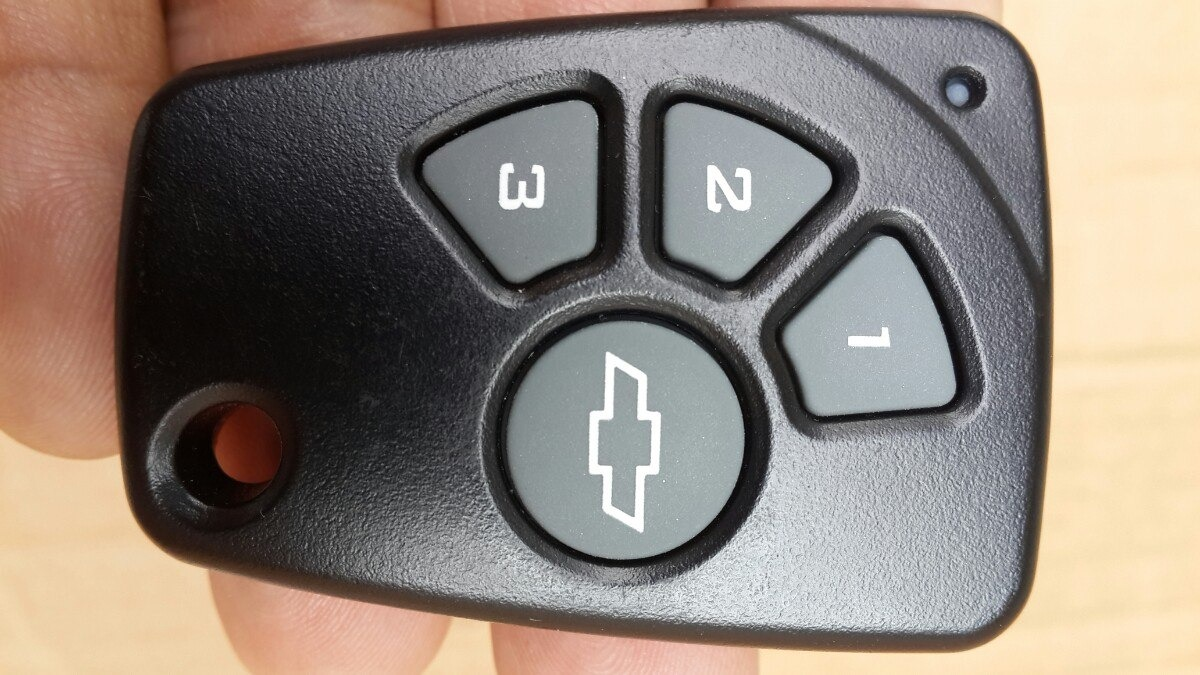 Control Remoto Chevy Alarma Chevrolet Chevystar Aveo Dmax