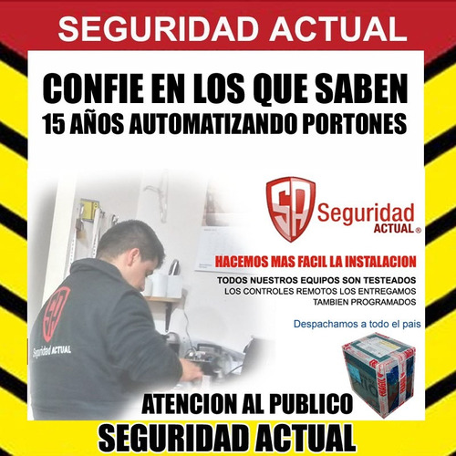 control remoto copiador para portones seg ppa rcg 433,92 mhz