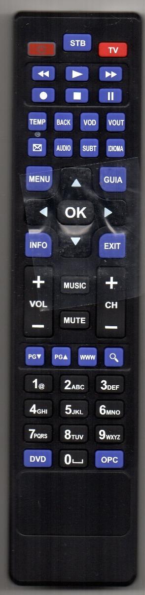 Control Remoto Cru Para Izzi 100 00 En Mercado Libre