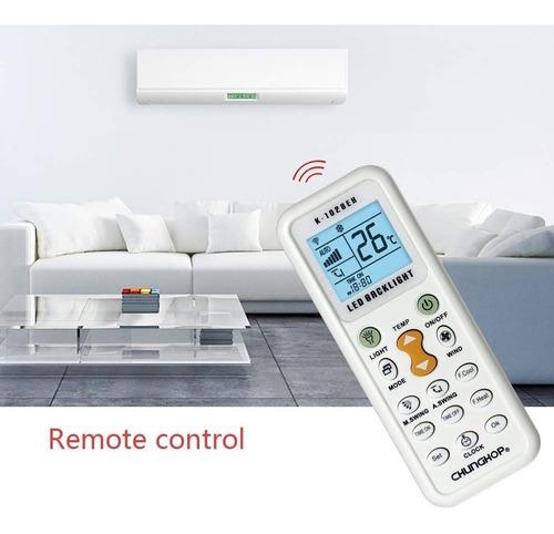 control remoto de aire acondicionado universal k 1028e