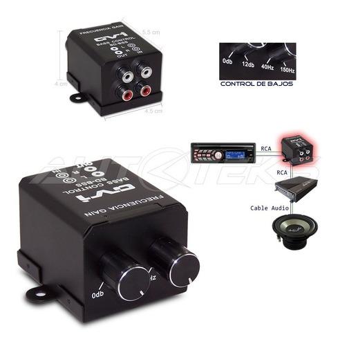 control remoto de bajos p/ amplificador subwoofer universal