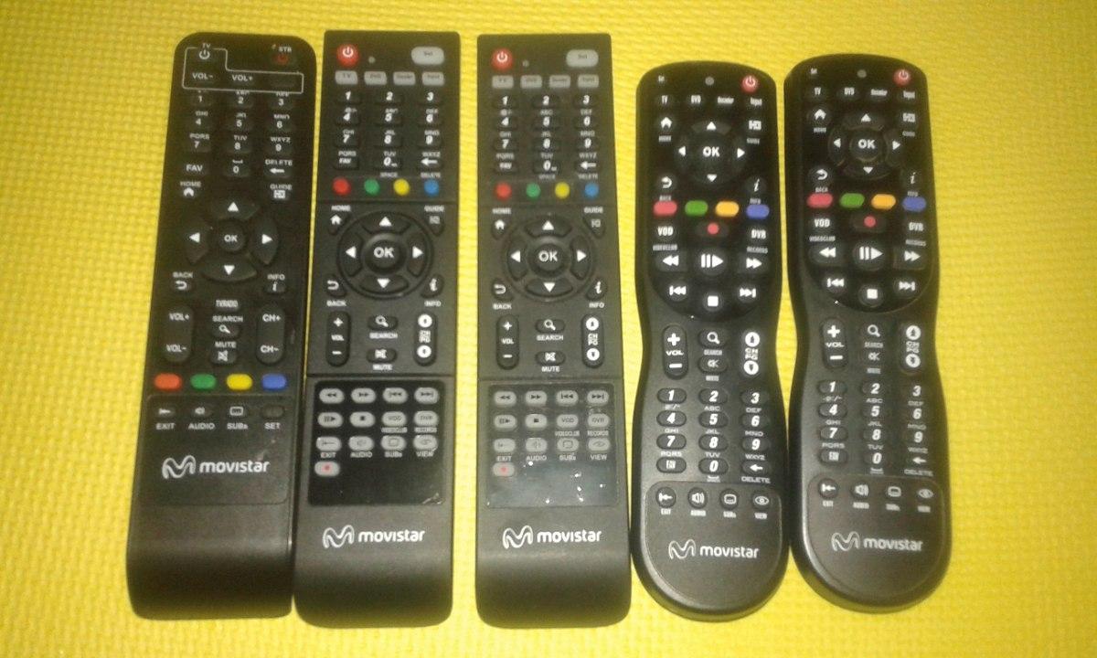control remoto  deco movistar universal hd,digital