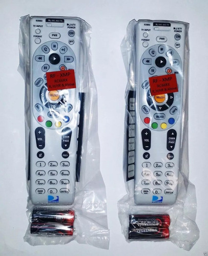control remoto directv con