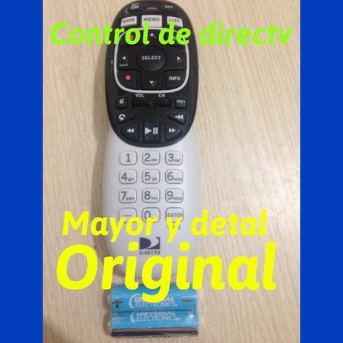 control remoto  directv original modelo nuevo