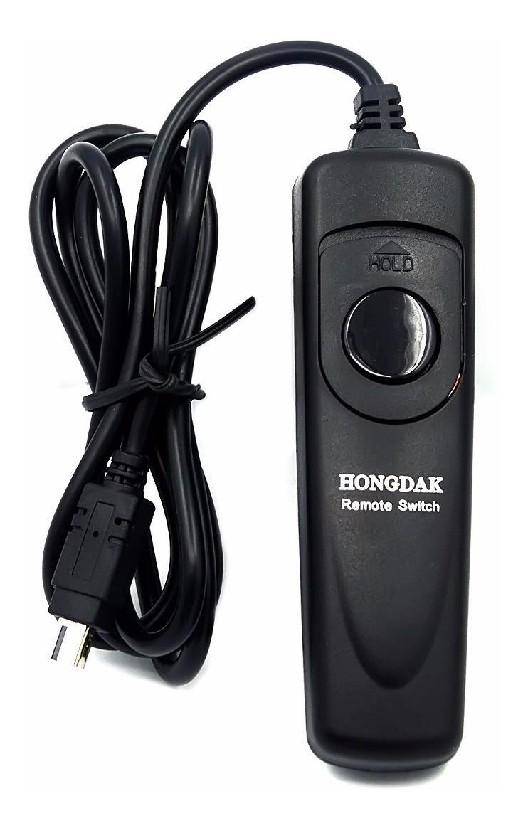 Cable de control remoto para cámara Nikon D3100 D3200 D5000 D5100 D7000 MC-DC2