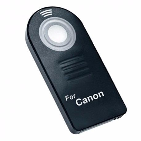 control remoto disparador inalámbrico infrarrojos para canon