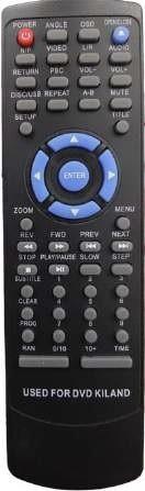 control remoto  dvd kiland