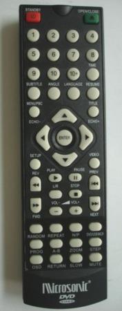control remoto dvd microsonic