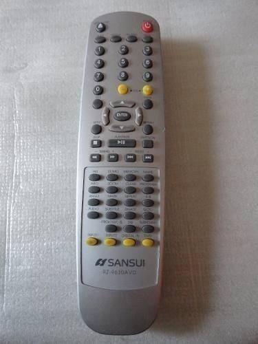 control remoto home theatre sansui rz-9630avd impecable